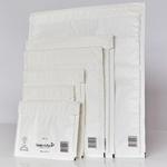 10 buste imbottite bianche d 18x26cm utile mail lite