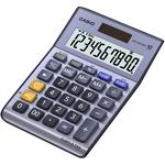 Calcolatrice da tavolo MS-100TERII - 10 cifre - azzurro - Casio