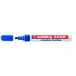 Marcatore Edding 4095 - punta tonda da 2,00-3,00mm - blu - Edding
