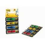 Segnapagina Post it® Index Mini Freccia - 4 colori classici - Post it® - conf. 96 pezzi
