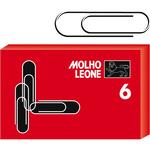 Fermagli zincati N.6 - lunghezza 57 mm - Molho Leone - conf. 100 pezzi