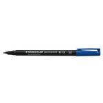 Pennarello Lumocolor Permanent 317  - punta 1,0mm - blu - Staedtler