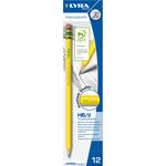 Matita Temagraph - gradazione HB - con gommino - Lyra - scatola 12 matite