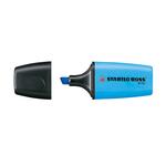 Evidenziatore Boss Mini - punta a scalpello - tratto 2,0-5,0mm - azzurro - Stabilo