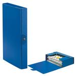 Scatola progetto Eurobox - dorso 4 cm - 25x35 cm - blu - Esselte