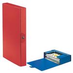 Scatola progetto Eurobox - dorso 4 cm - 25x35 cm - rosso - Esselte