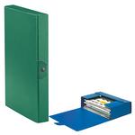 Scatola progetto Eurobox - dorso 4 cm - 25x35 cm - verde - Esselte