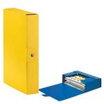 Scatola progetto Eurobox - dorso 6 cm - 25x35 cm - giallo - Esselte