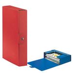 Scatola progetto Eurobox - dorso 6 cm - 25x35 cm - rosso - Esselte