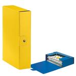 Scatola progetto Eurobox - dorso 8 cm - 25x35 cm - giallo - Esselte