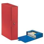 Scatola progetto Eurobox - dorso 8 cm - 25x35 cm - rosso - Esselte