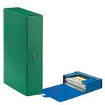 Scatola progetto Eurobox - dorso 8 cm - 25x35 cm - verde - Esselte