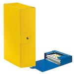 Scatola progetto Eurobox - dorso 10 cm - 25x35 cm - giallo - Esselte