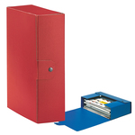 Scatola progetto Eurobox - dorso 10 cm - 25x35 cm - rosso - Esselte