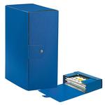Scatola progetto Eurobox - dorso 15 cm - 25x35 cm - blu - Esselte