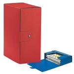 Scatola progetto Eurobox - dorso 15 cm - 25x35 cm - rosso - Esselte