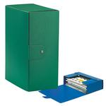 Scatola progetto Eurobox - dorso 15 cm - 25x35 cm - verde - Esselte