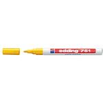 Marcatore 751 - punta fine da 1,0 a 2,0mm - giallo - Edding