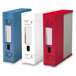 Scatola archivio Combi Box E600 - dorso 9 cm - 29,8x36,2 cm - rosso - Fellowes