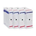 Scatola archivio Memory X80 - 25x35 cm - dorso 8 cm - bianco - Sei Rota