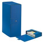 Scatola progetto Eurobox - dorso 12 cm - 25x35 cm - blu - Esselte