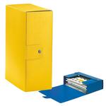 Scatola progetto Eurobox - dorso 12 cm - 25x35 cm - giallo - Esselte