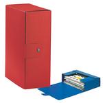 Scatola progetto Eurobox - dorso 12 cm - 25x35 cm - rosso - Esselte