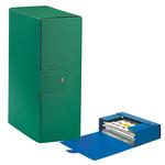 Scatola progetto Eurobox - dorso 12 cm - 25x35 cm - verde - Esselte