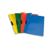 Cartellina con molla Video Clipper - PPL - 22x30 cm - azzurro - Fellowes