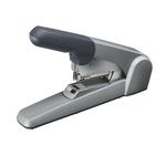 Cucitrice da tavolo Heavy Duty Flat Clinch - capacità massima 60 fogli - argento - Leitz