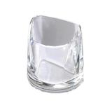 Portapenne Nimbus - 10x11x6,8 cm - cristallo trasparente - Rexel