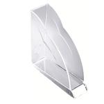 Portariviste Nimbus - 24,8x25,2 cm - cristallo trasparente - Rexel