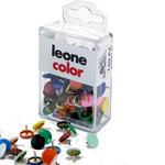Puntine - colori assortiti - Leone - scatola da 150 pezzi