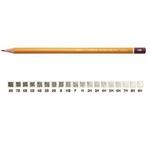Matita H1500 - gradazione 2H - Koh I Noor - scatola 12 matite