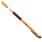 Roller pointVisco 1099  - punta 0,5mm - marrone - Stabilo - conf. 10 pezzi