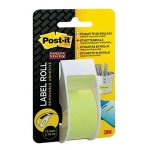 Post-it® Super Sticky etichette riposizionabili in rotolo