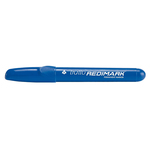 Marcatore permanente Redimark  - punta tonda - tratto 3,50mm - blu - Tratto