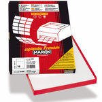 Etichetta adesiva C550 - permanente - 210x280 mm - 1 etichetta per foglio - bianco - Markin - scatola 100 fogli A4