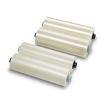 Film per plastificazione - 305 mm x 75 mt - 75 micron - lucido - GBC - conf. 2 bobine