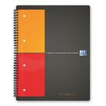 Blocco spiralato International Activebook - 5mm con margine - 240 x 297mm - 80gr - 80 fogli - Oxford