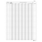 Registro Iva corrispettivi per mancato funzionamento registro cassa - 31 x 24,5cm - 46pg - pagine numerate - Edipro