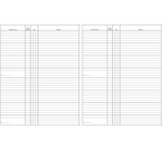 Registro libro soci SPA/SRL - 31 x 24,5 - 47pg - numerate - Edipro