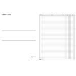 Libro cassa - 31 x 24,5cm - 100 fogli - Edipro