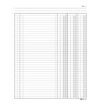Registro libro inventari - 31 x 24,5cm - 92pg - numerate - Edipro