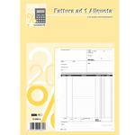 Blocco fatture 1 aliquota Iva - 50/50 fogli autoricalcanti - 29,7 x 21cm - Edipro