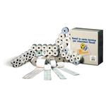 Rotoli calcolatrici - 57mm x 30mt - diametro esterno 58mm - anima 12mm - 55gr - cellulosa - Rotomar - blister 10 rotoli