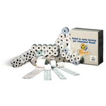 Rotoli calcolatrici - 68mm x 35mt - diametro esterno 60mm - anima 12mm - 60gr - pura cellulosa - Rotomar - blister 10 rotoli