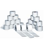 Rotoli bilance - 62,5mm x 18mt - diametro esterno 58mm - anima 18mm - carta termica adesiva - Rotomar - blister 5 rotoli