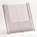 Portadepliant da parete - tasca A4 - trasparente - Studio T