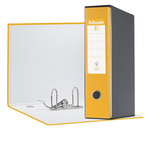 Registratore Eurofile G55 - dorso 8 cm - protocollo 23x33 cm - giallo - Esselte